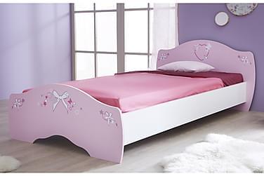 ZEINAB Säng 90x190/200 Rosa