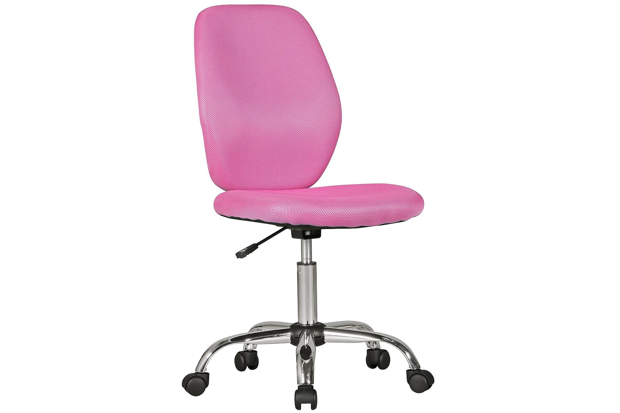 AVERLEE Skrivbordsstol för Barn Rosa, Barnstolar