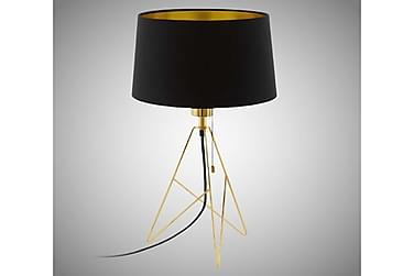 CAMPORALE Bordslampa 30 Rund Svart/Guld