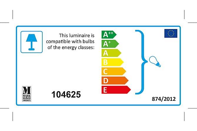 KULLEN Bordslampa 22,5 Ek/Vit - Möbler & Inredning - Belysning - Bordslampor