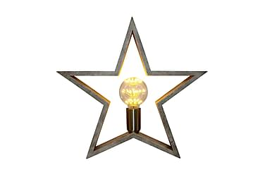 STJÄRNA Bordslampa Stjärna Trä