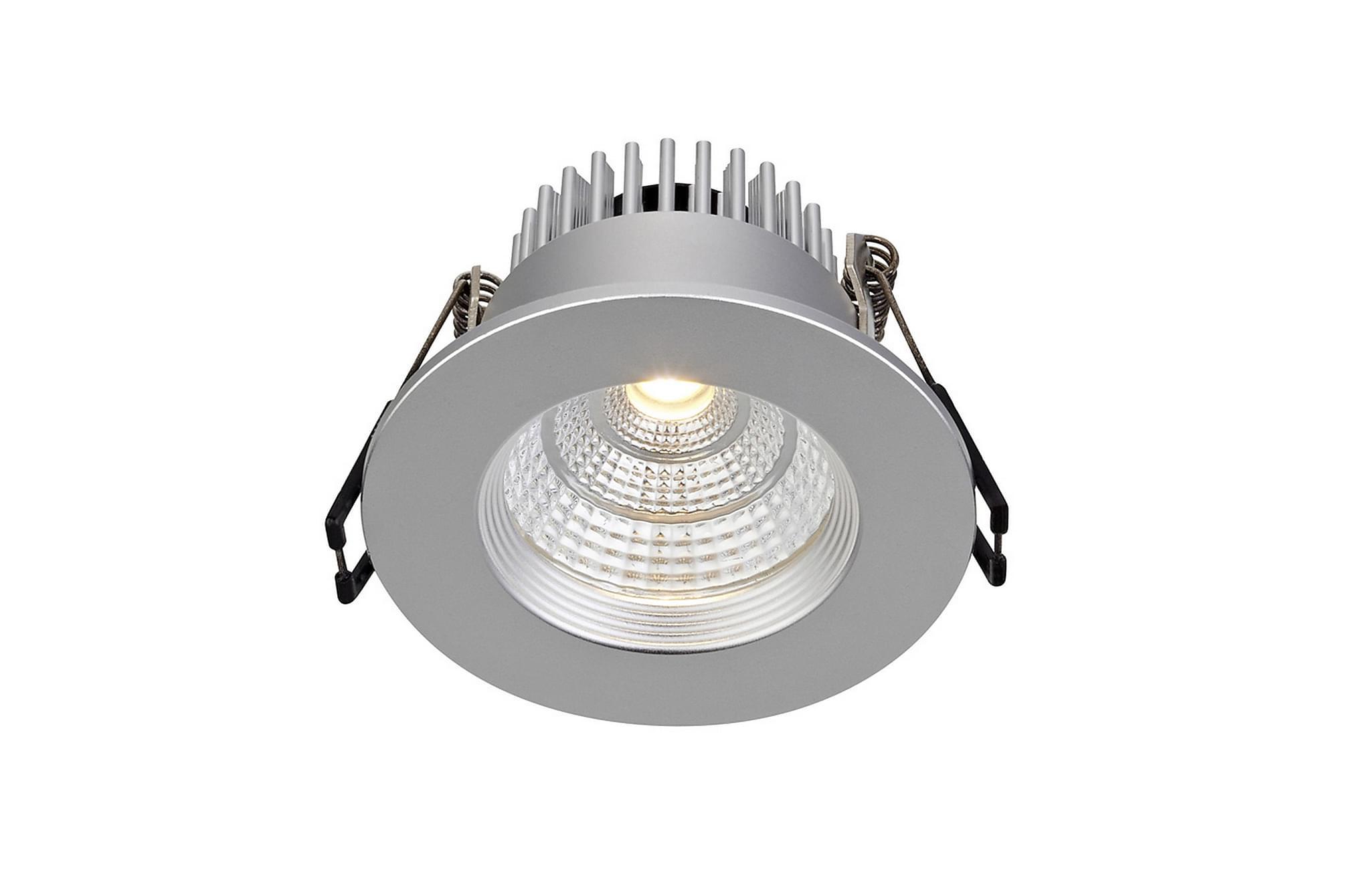 ARES Downlight Set om 3 Silver, Glödlampor & ljuskällor