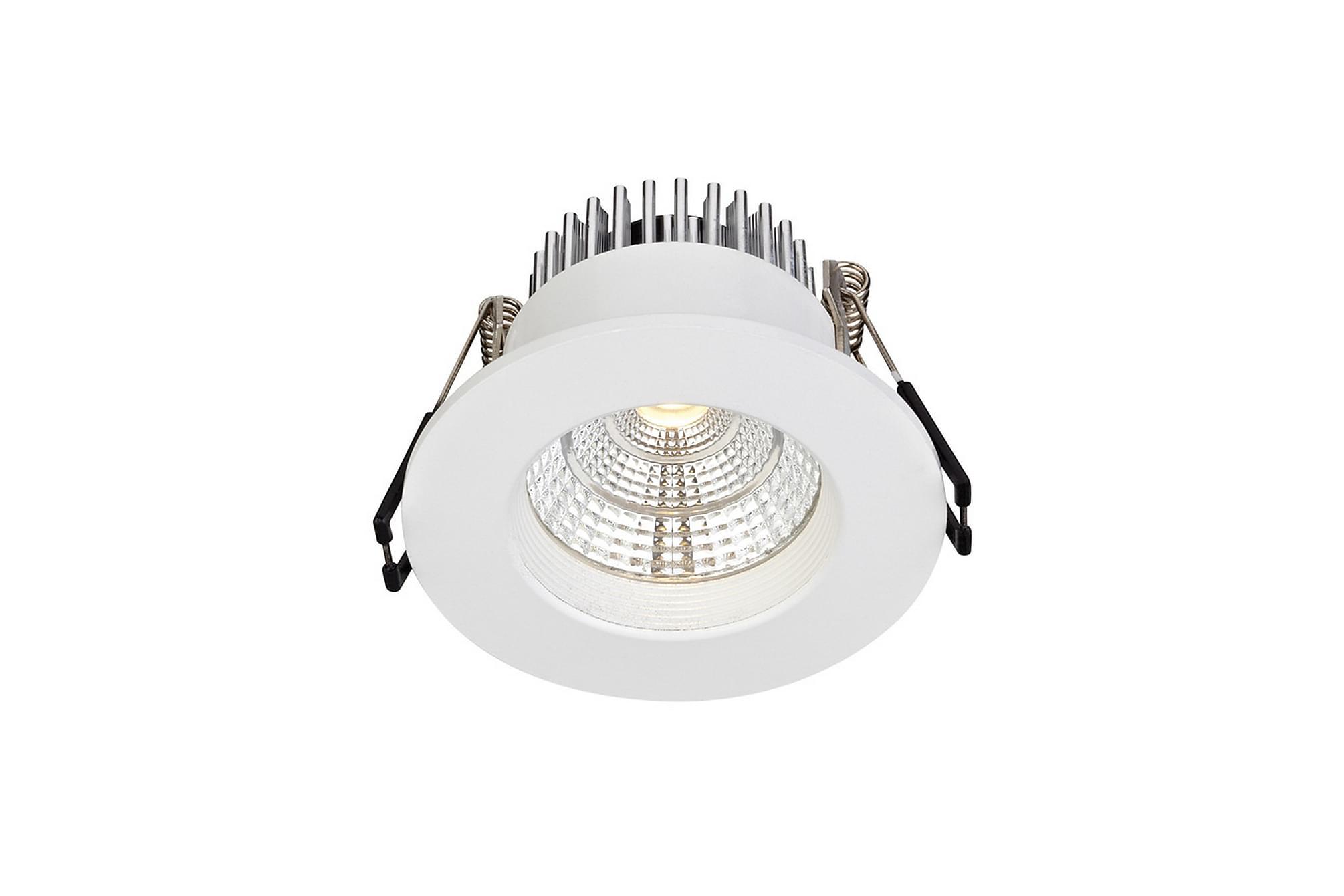 ARES Downlight Set om 3 Vit, Glödlampor & ljuskällor