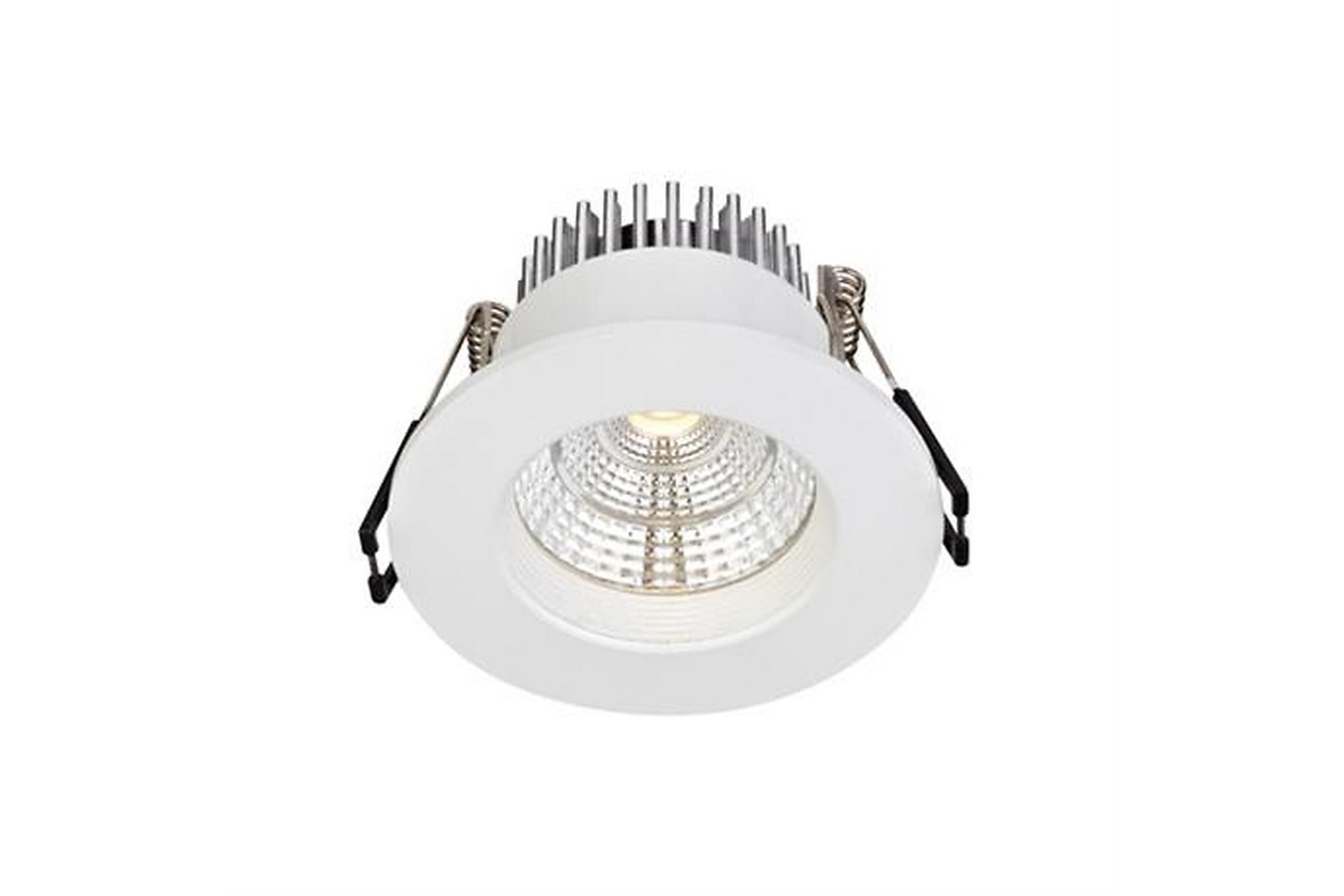 ARES Downlight Singelspot Vit, Glödlampor & ljuskällor