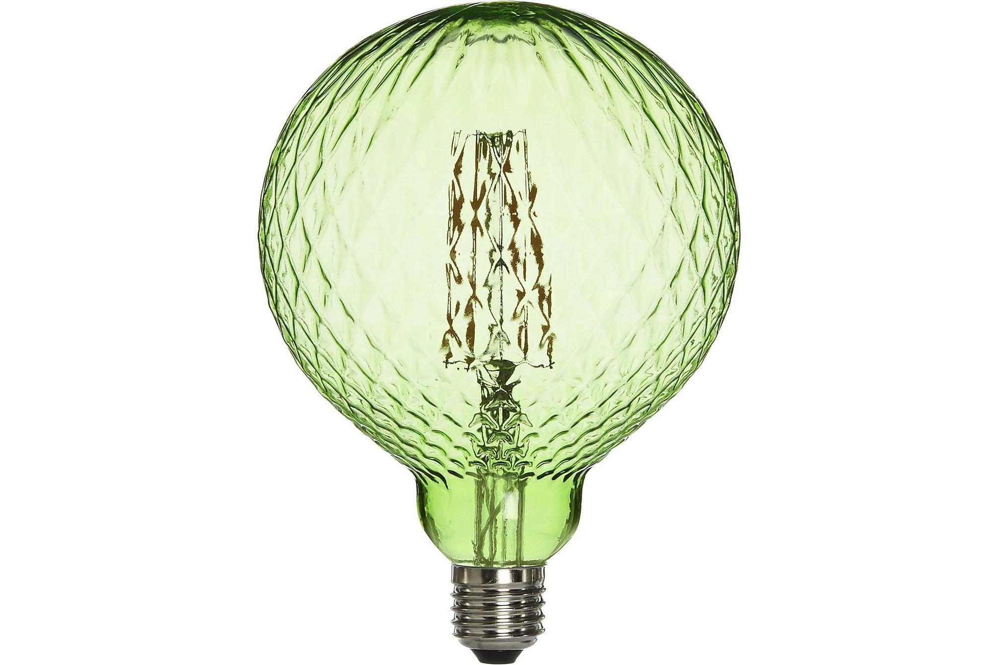 Elegance LED Cristal Grön, Glödlampor & ljuskällor
