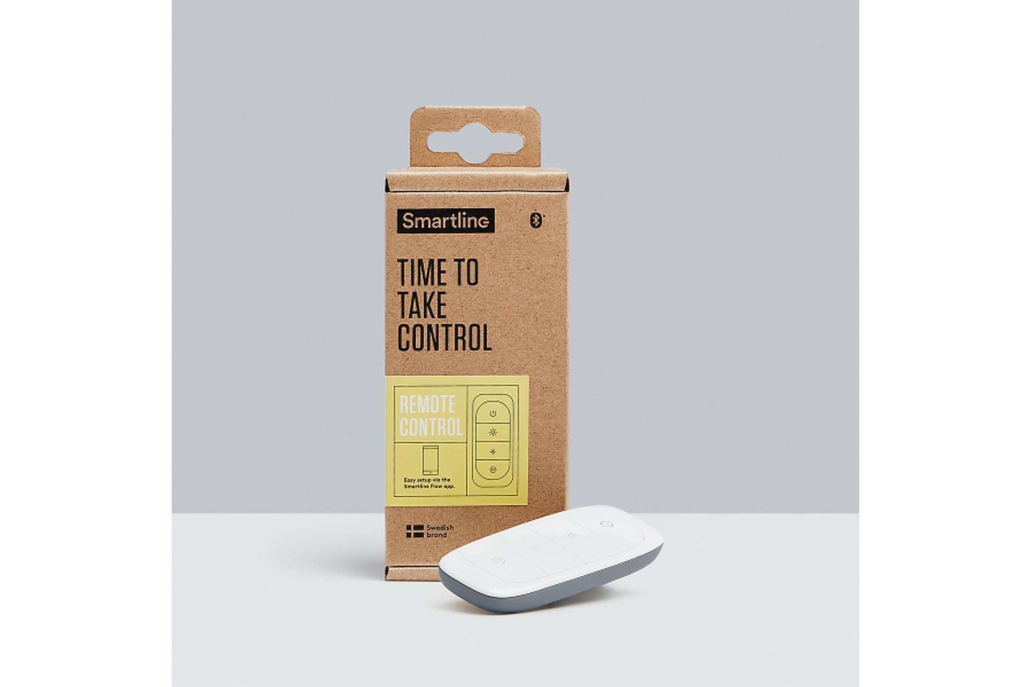 GINGSTA Remote Control - Smartline Flow Remote Control Vit, Glödlampor & ljuskällor