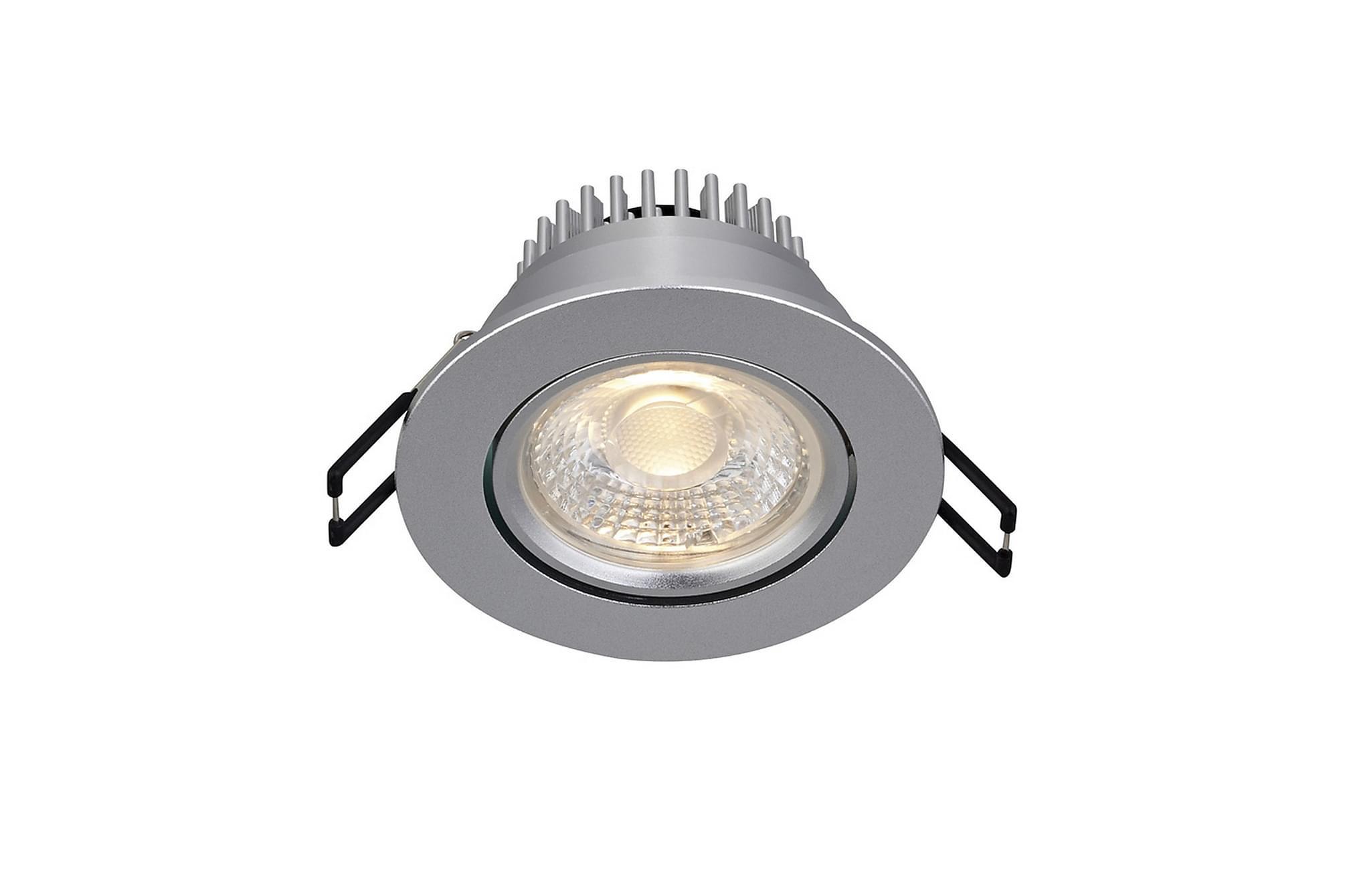 HERA Downlight Singelspot Silver, Glödlampor & ljuskällor