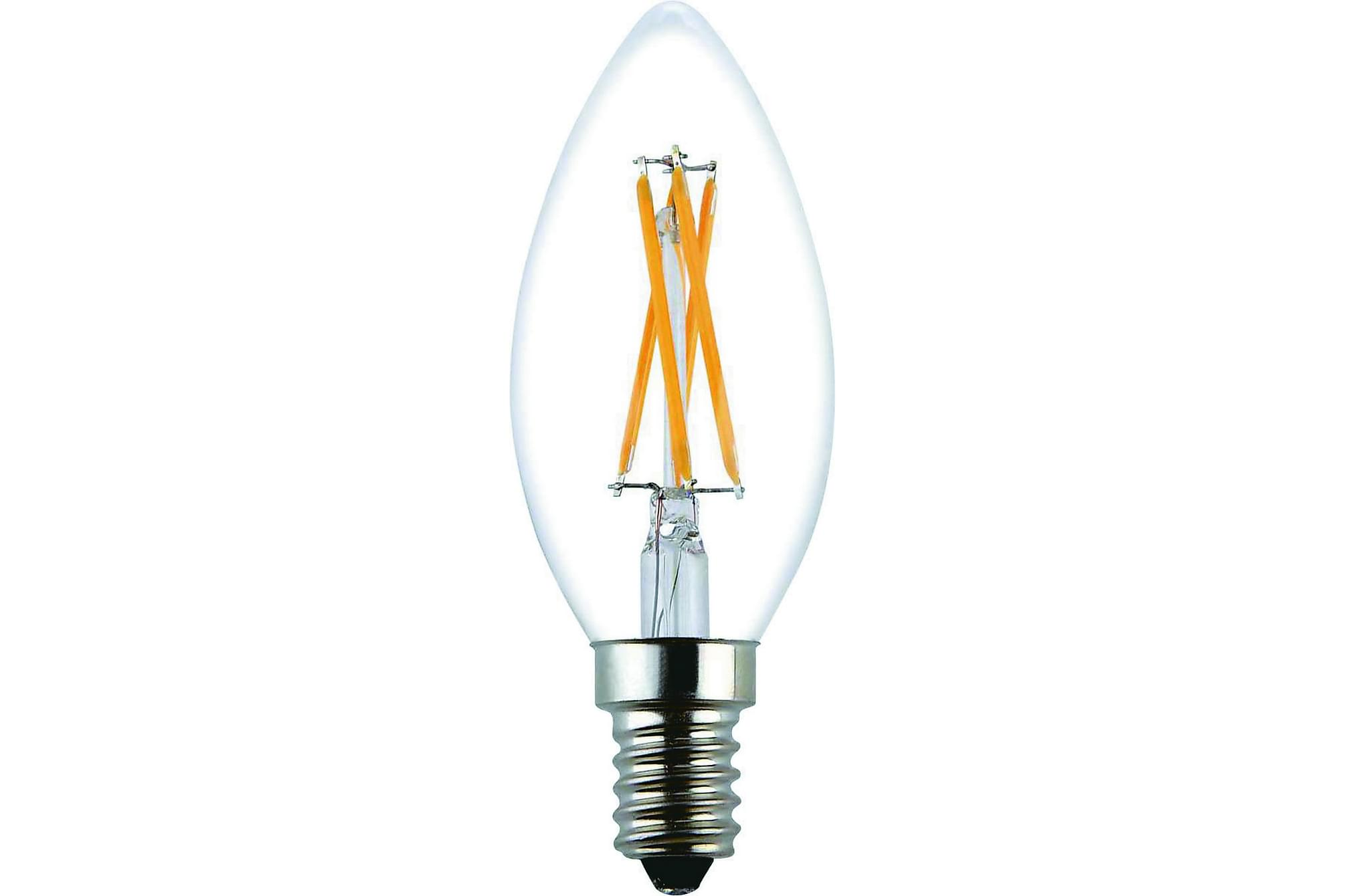 JUNG LED-lampa 3,6W E14 2700K Dim Filament Klar, Glödlampor & ljuskällor