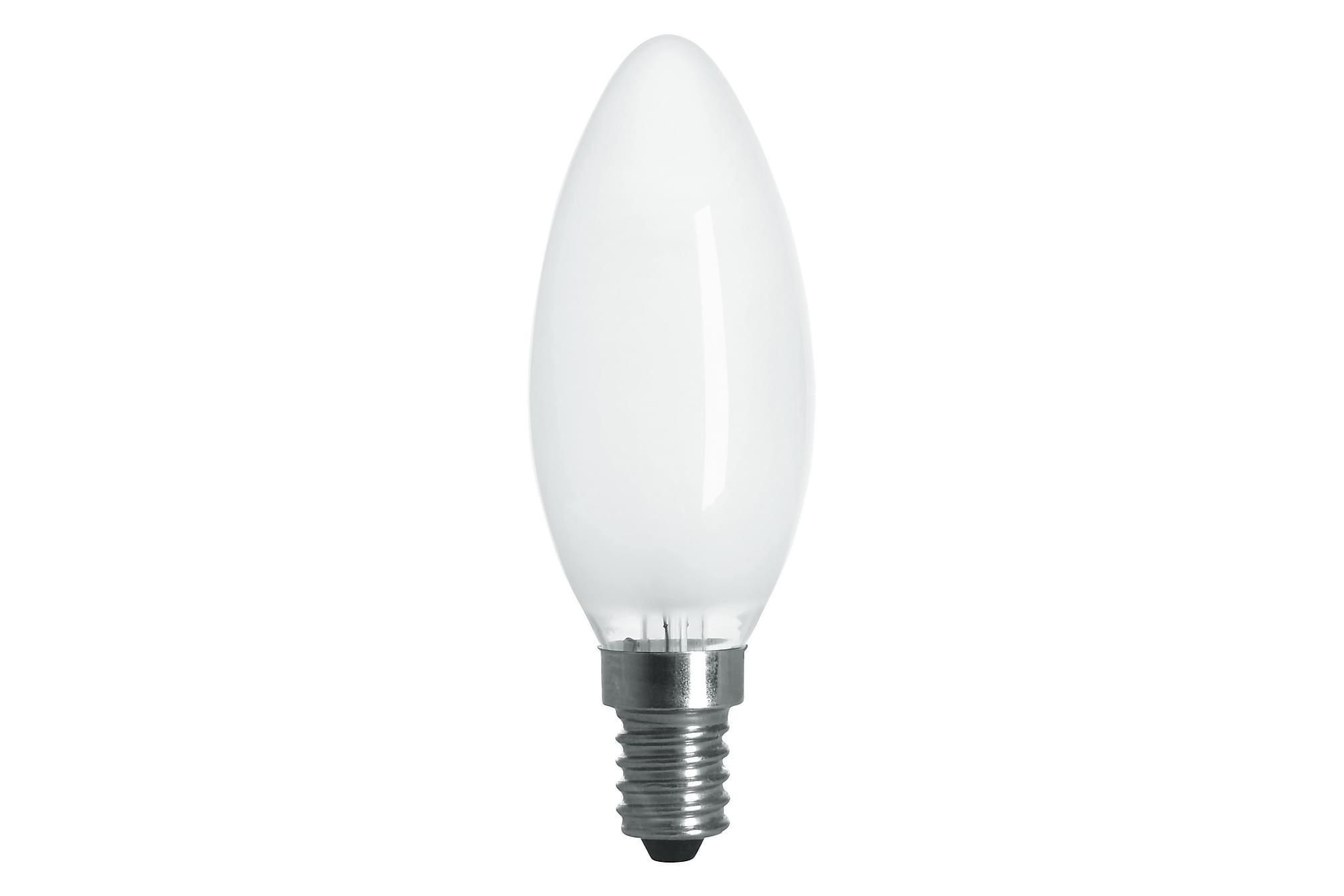 JUNG LED-lampa 3,6W E14 2700K Dim Filament Opal, Glödlampor & ljuskällor