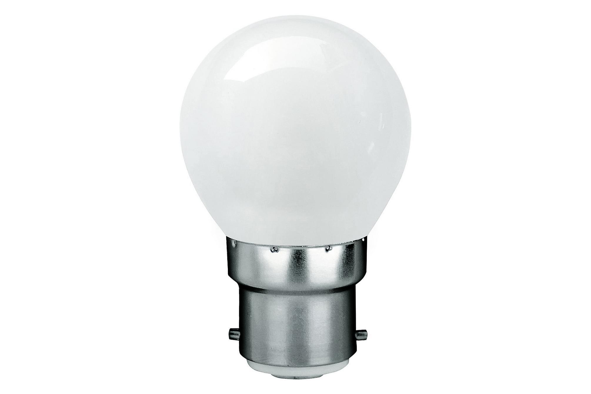 KIBBLE LED-lampa 1,8W B22 2700K Filament Opal, Glödlampor & ljuskällor