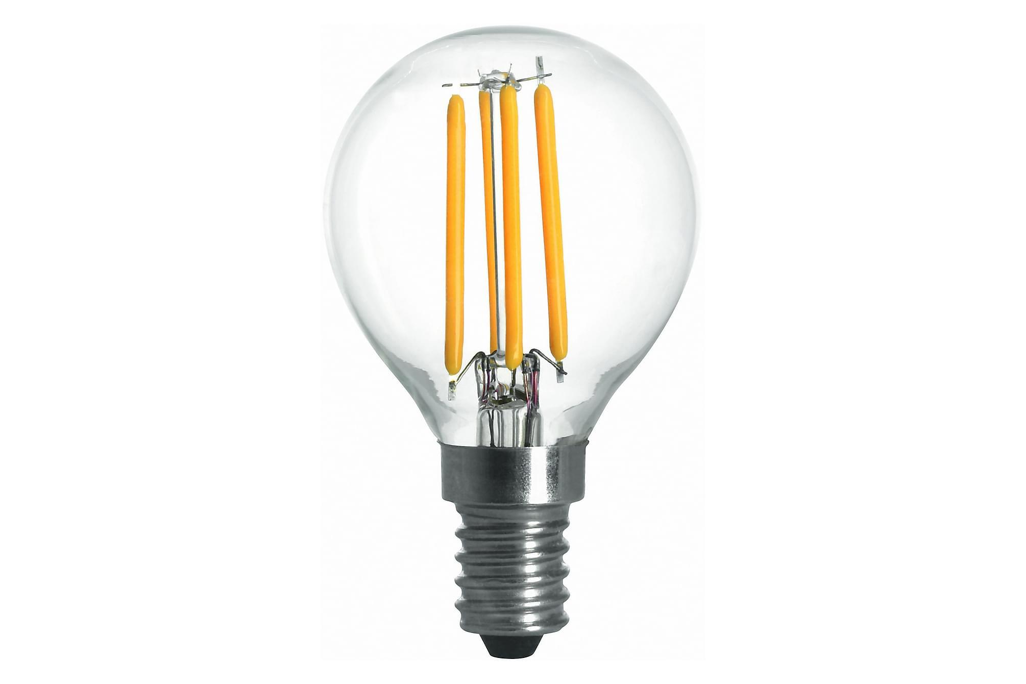 KIBBLE LED-lampa 1,8W E14 2700K Filament Klar, Glödlampor & ljuskällor