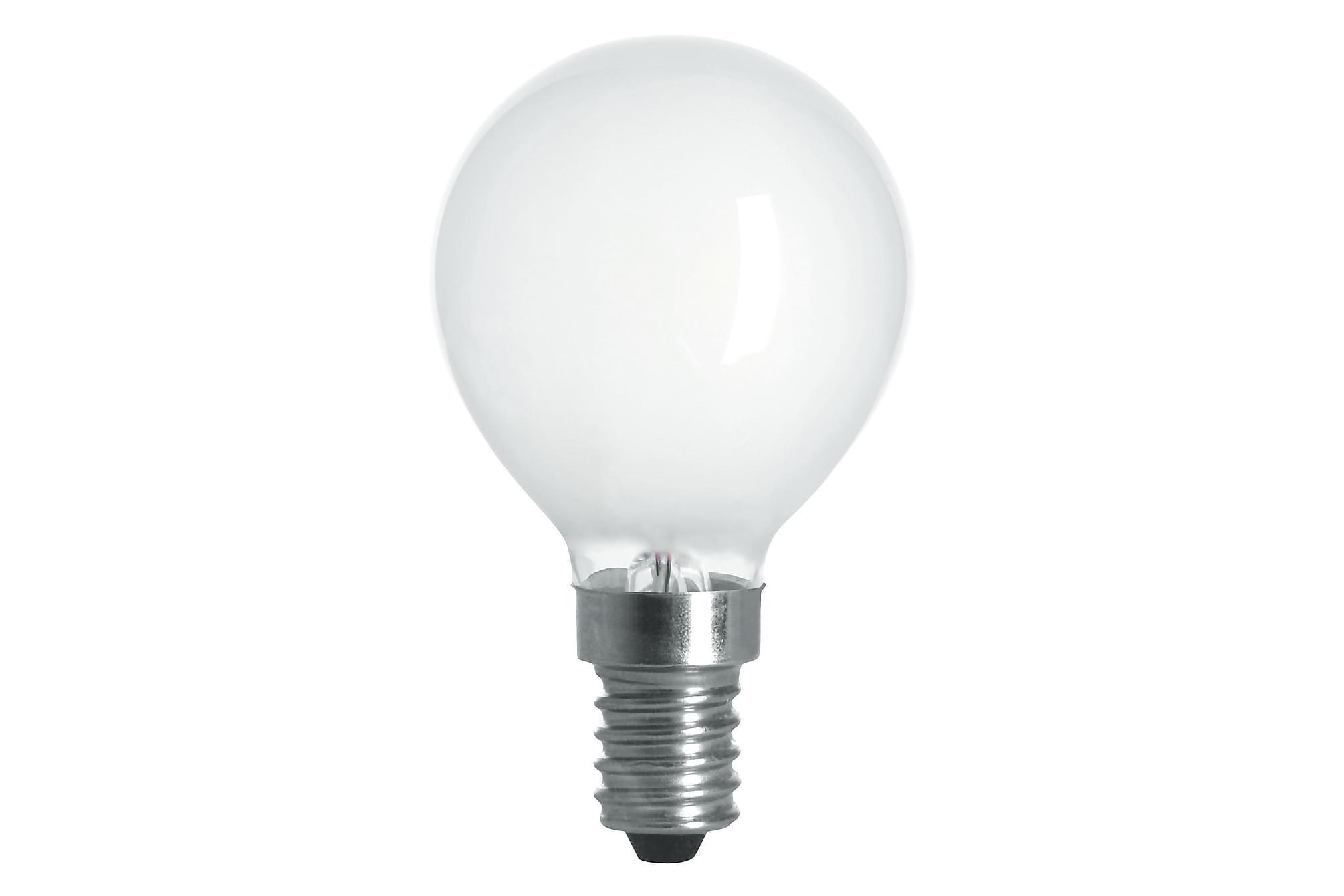KIBBLE LED-lampa 1,8W E14 2700K Filament Opal, Glödlampor & ljuskällor
