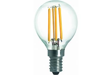KIBBLE LED-lampa 3,6W E14 2700K Dim Filament Klar