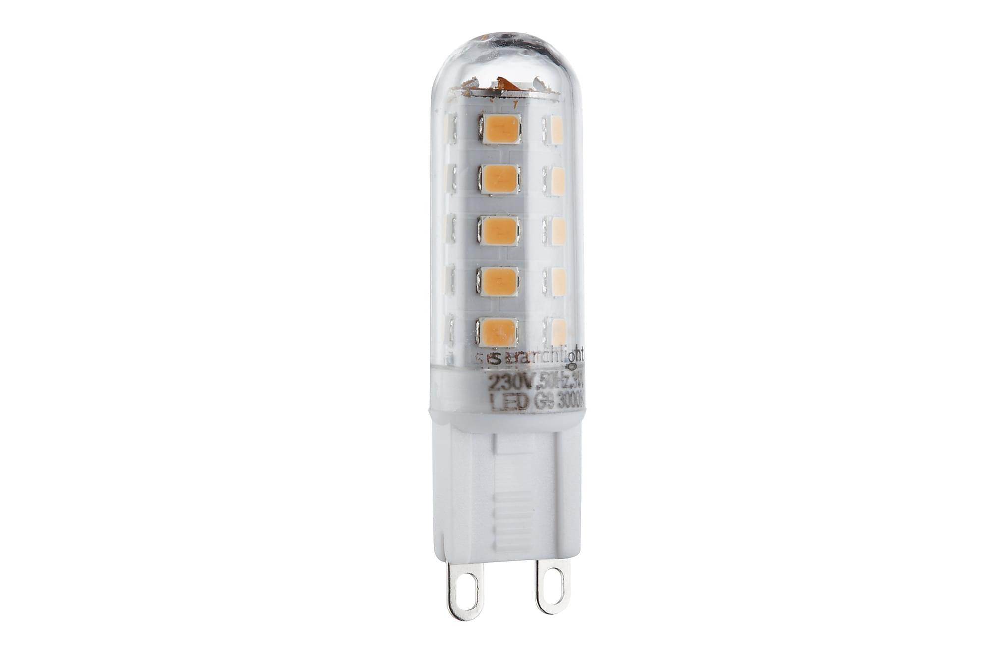 LAMPS LED 10xG9 3W 300 Lumens Vit, Glödlampor & ljuskällor