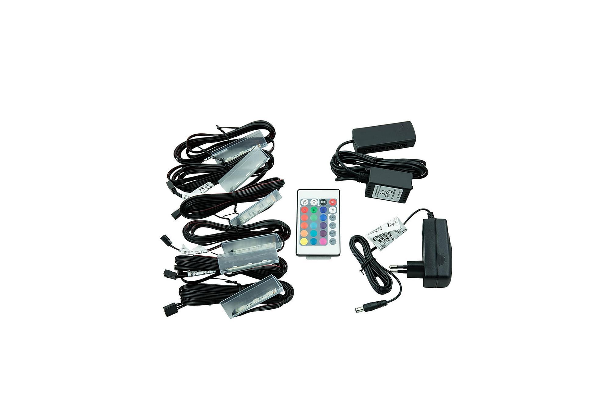LED - 6 klipsy, Glödlampor & ljuskällor