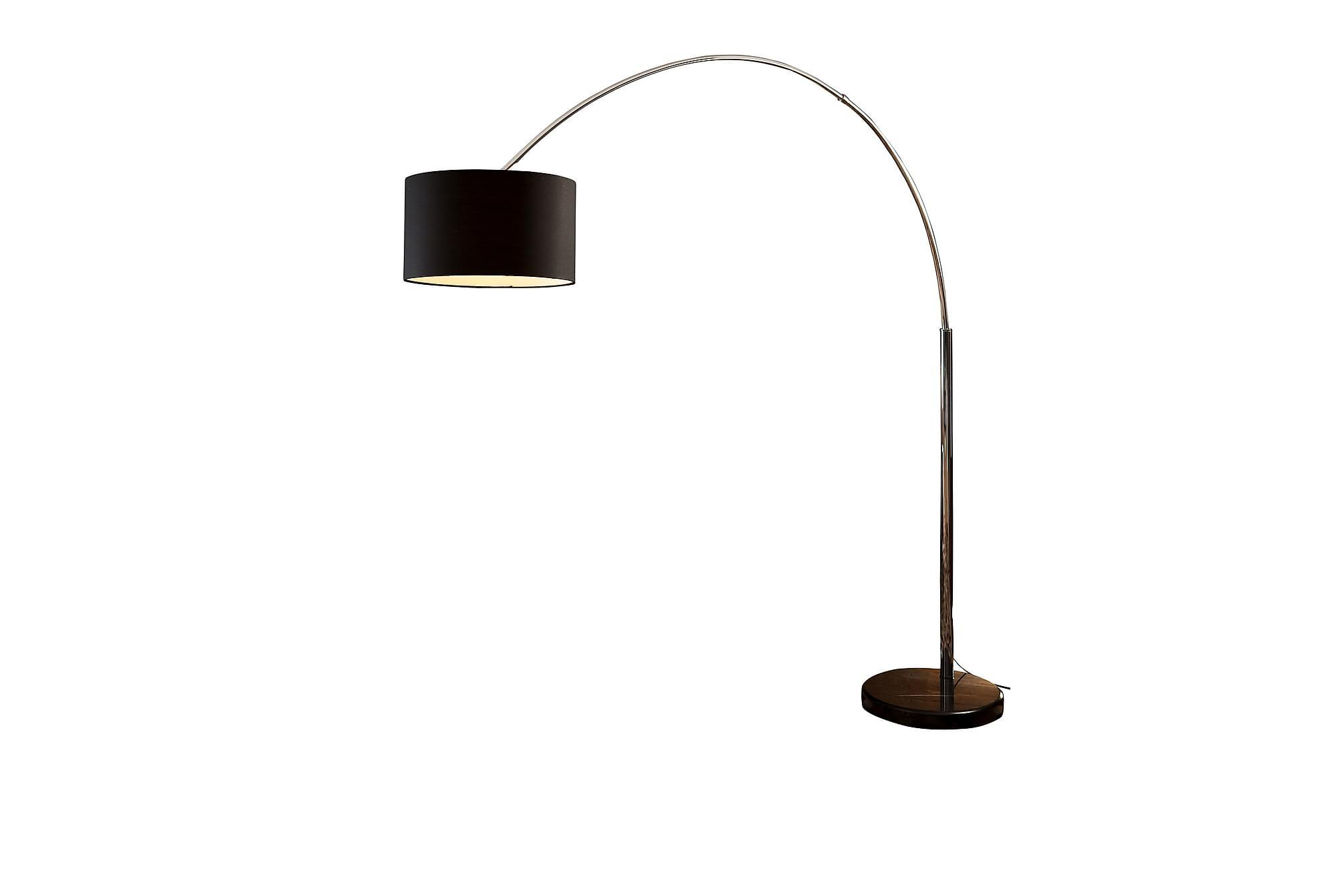 Båglampa 210 cm black, Golvlampor