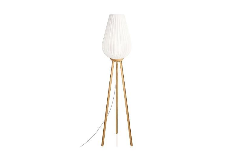 SWEA Golvlampa Natur/Vit - Globen Lighting - Möbler & Inredning - Belysning - Golvlampor