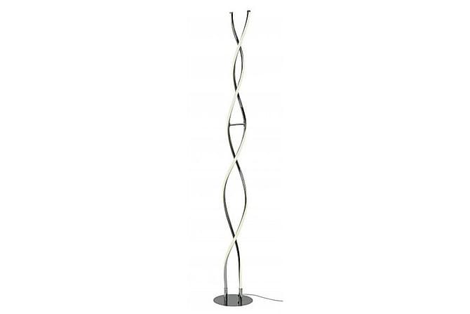 VINDLA Golvlampa 20 LED Krom/Blank - Cottex - Inomhus - Belysning - Golvlampor