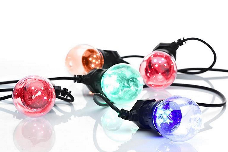 DAKKE Ljusslinga 10L Multifärgad