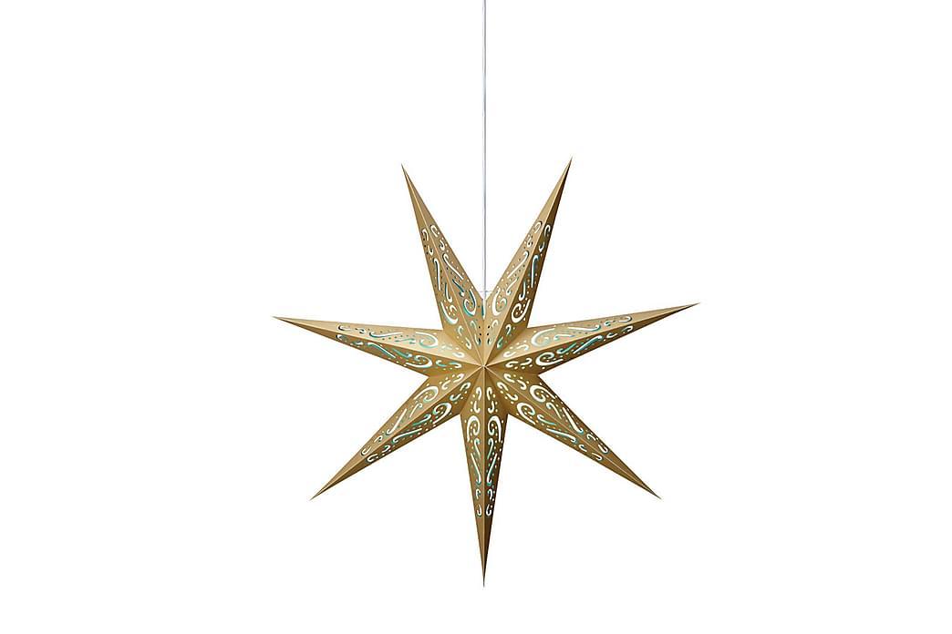ELIN Julstjärna Blå/Guld - Möbler & Inredning - Belysning - Julbelysning