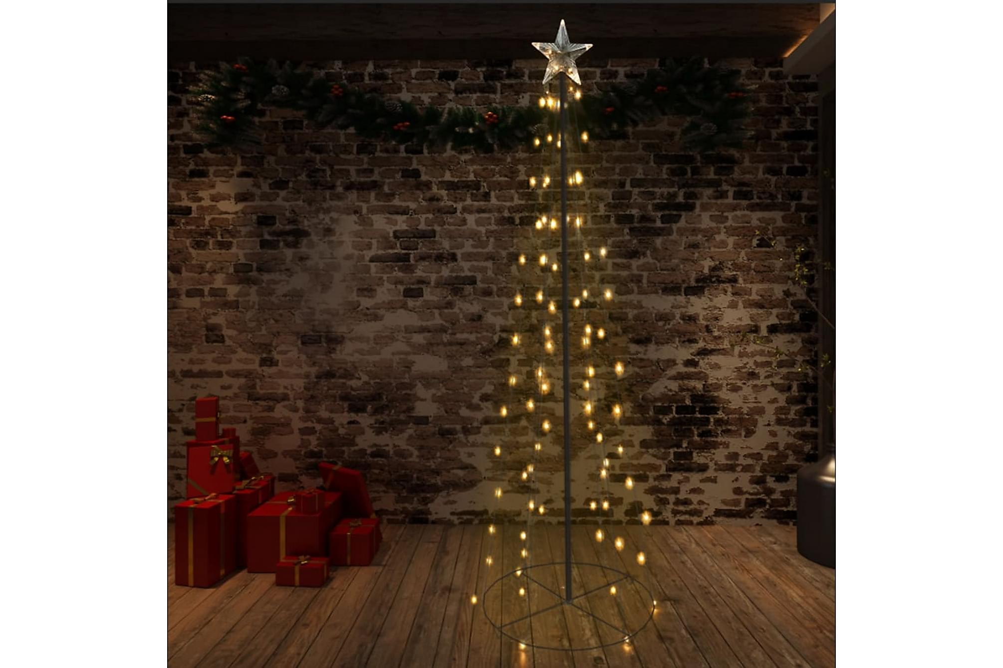 Ljuskon för julgran 140 LED inne/ute 72×240 cm