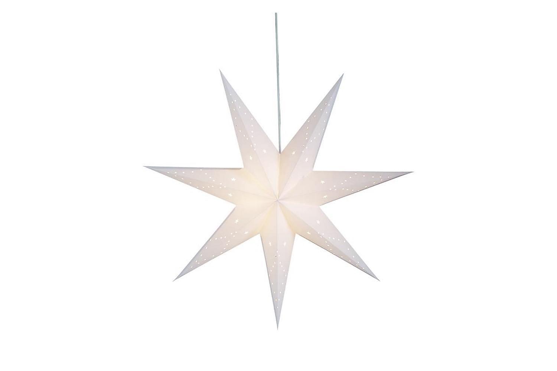 SATURNUS Julstjärna 75 Vit