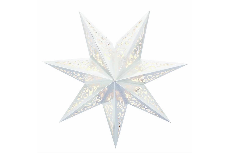 VALLBY Julstjärna 45 Vit