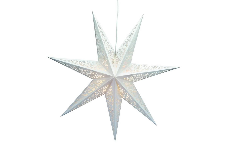 VALLBY Julstjärna 75 Vit