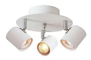 ALPHA Spotlight 20 Rund 3 Lampor Vit