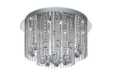BEATRIX Plafond 45 8 Lampor Krom/Blank