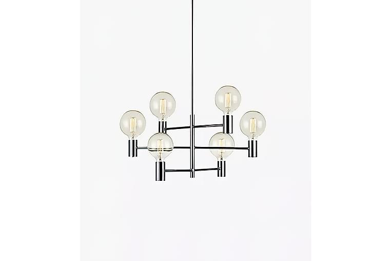 CAPITAL Taklampa 6L Krom - Möbler & Inredning - Belysning - Taklampor