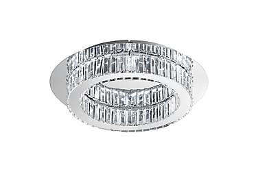 CORLIANO Plafond LED 50 cm Krom/Kristall