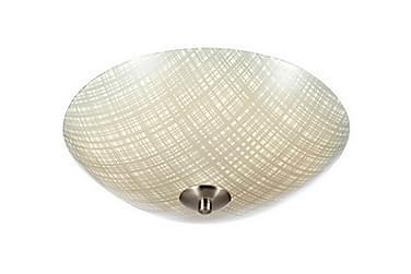 CROSS Plafond LED 43 Grå/Stål