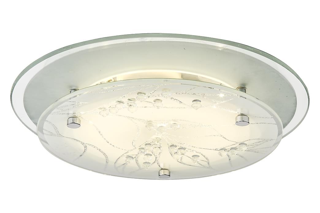 DENISE plafond, vit/krom - Möbler & Inredning - Belysning - Taklampor
