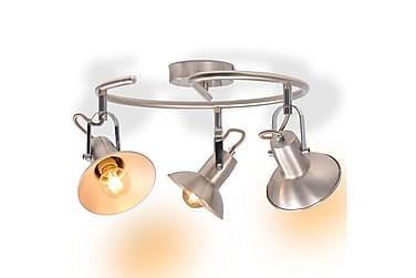 FRESEZ Taklampa 3 Lampor Silver