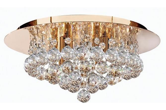HANNA Plafond 35 Rund Dimbar 4 Lampor Mässing - Möbler & Inredning - Belysning - Taklampor