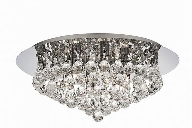 HANNA Plafond 45 Rund Dimbar 6 Lampor Krom/Blank - Searchlight - Inomhus - Belysning - Taklampor