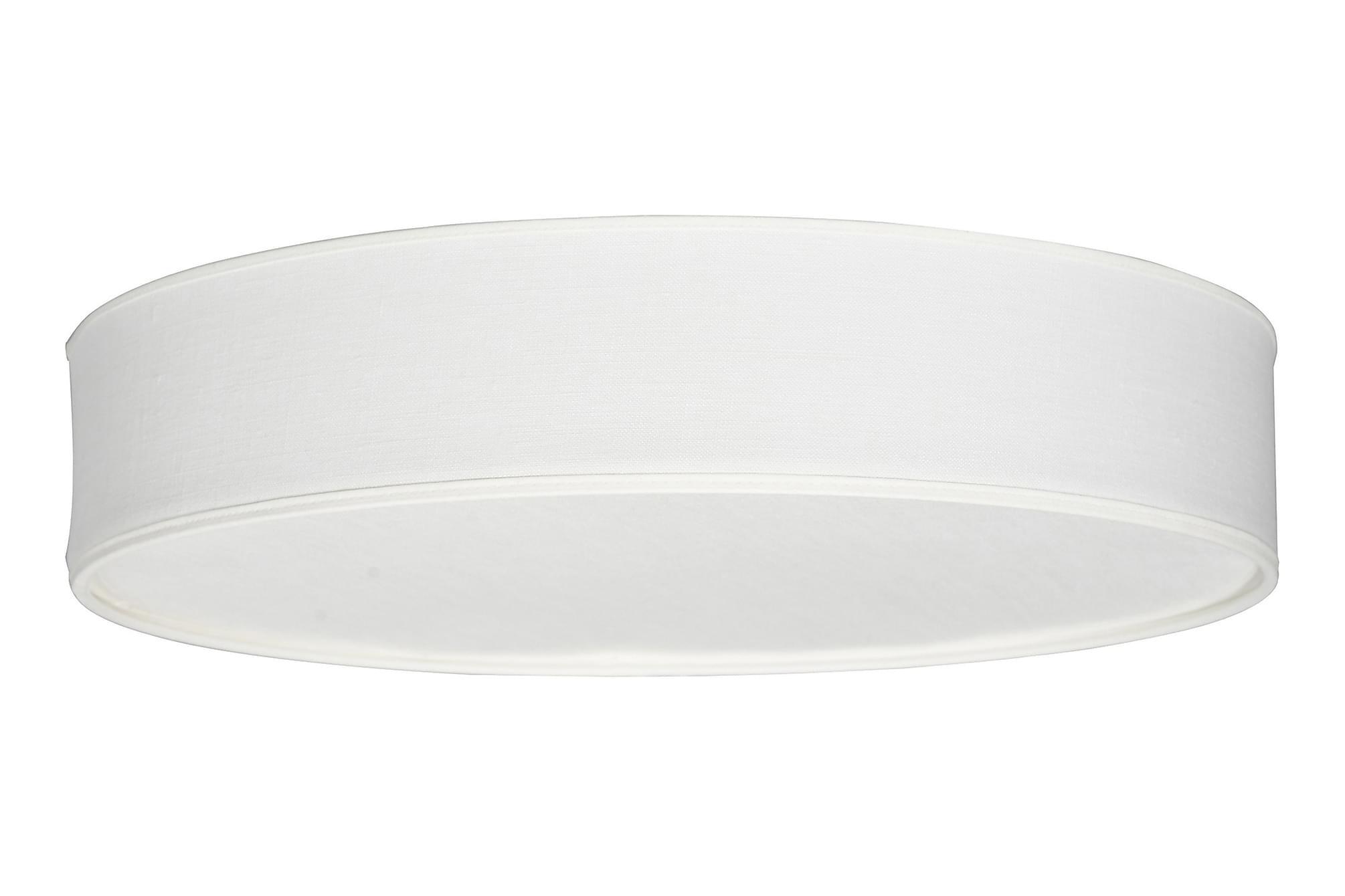 Soft plaf D440 vit linne med akrylbländskydd