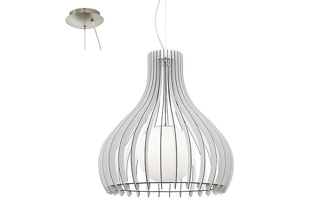 TINDORI Taklampa 80 Rund Vit - Möbler & Inredning - Belysning - Taklampor