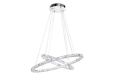 TONERIA Taklampa LED Krom/Kristall