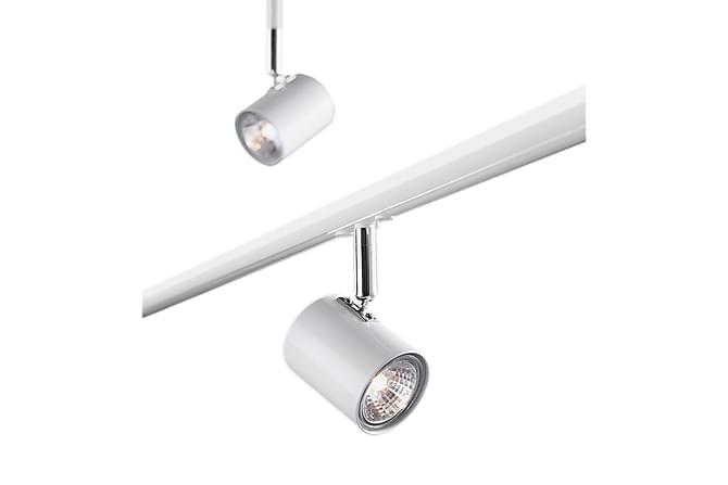 TRACK Takspot Set om 3 Vit - Möbler & Inredning - Belysning - Taklampor
