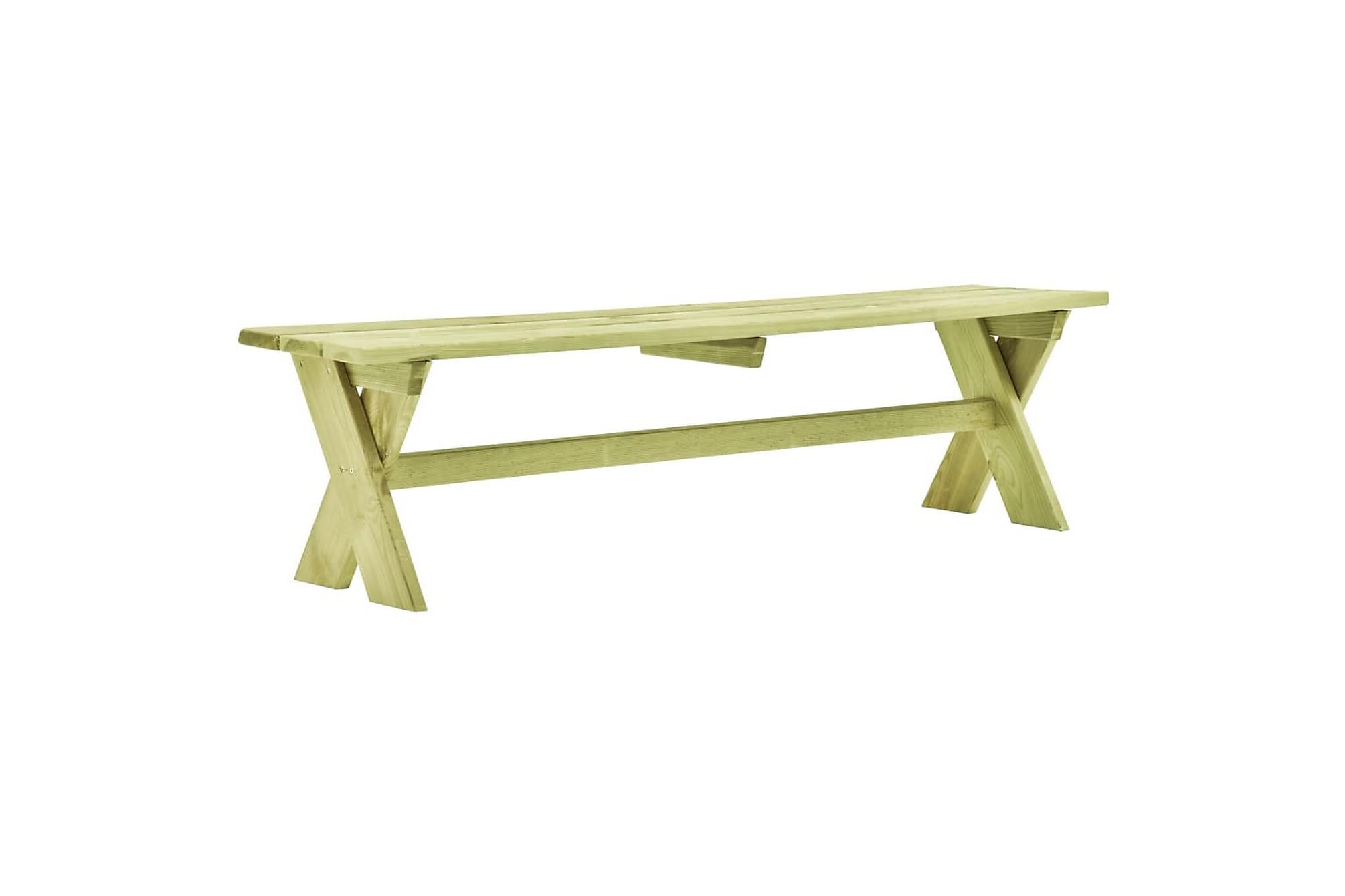 Trädgårdsbord 170x73x70 cm FSC impregnerad furu