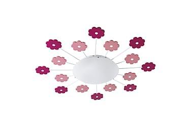 VIKI Plafond Rosa/Blommor