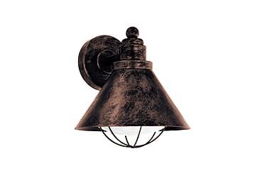 BARROSELA Vägglampa Koppar/Antik