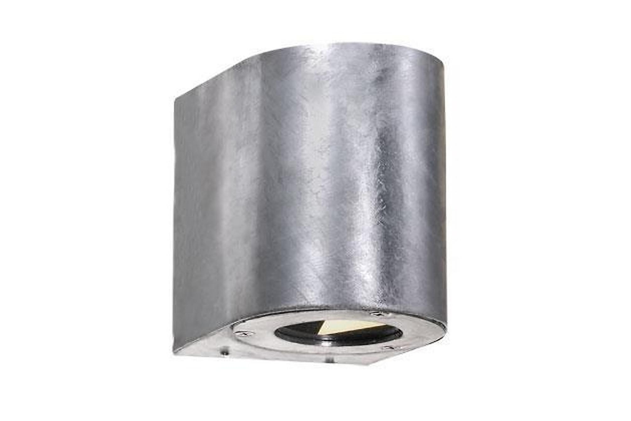 CANTO Fasadbelysning 9 LED Galvaniserat Stål, Utomhusbelysning
