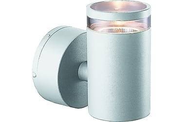 EMELDA I Vägglykta 10W Silver