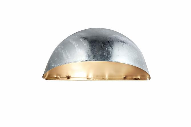 STAN Vägglampa Galvaniserad - Möbler & Inredning - Belysning - Utomhusbelysning