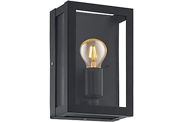 ALAMONTE Vägglampa 17 Svart/Klar
