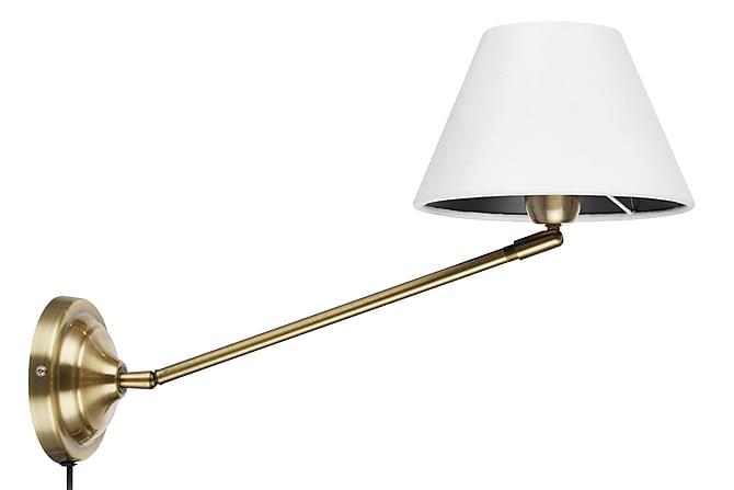 GARDA Vägglampa Antik/Vit - Inomhus - Belysning - Vägglampor