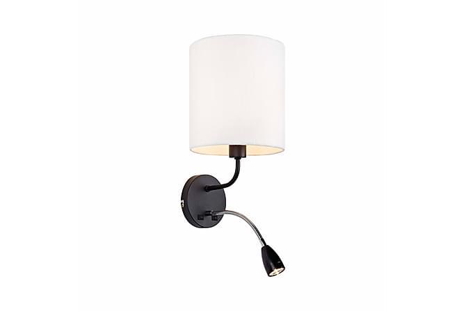 MASON Vägglampa 2L Svart/Vit - Inomhus - Belysning - Vägglampor